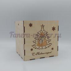 """Подарочная коробка """"С новым годом!"""""""