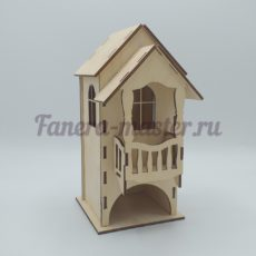 Чайный домик с балконом