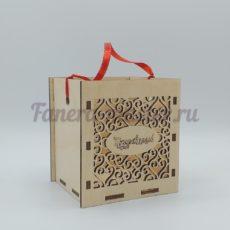 """Подарочная коробочка  """"Поздравляем"""""""