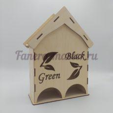 """Чайный домик """"Green Black"""""""