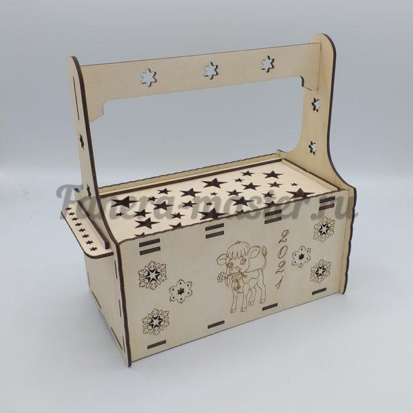 Ящик декоративный для подарков