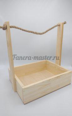 Ящик стандартный с канатной ручкой - размер 3